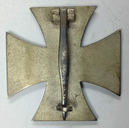 Cased Deumer Eisernes Kreuz 1. Klasse