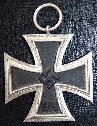 Eisernes Kreuz 2. Klasse unmarked identification