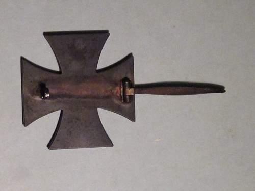 My First Eisernes Kreuz 1. Klasse