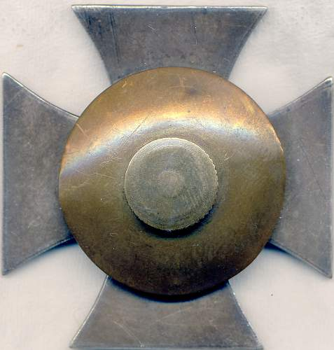 Eisernes Kreuz 1. Klasse S&L screw back two disc