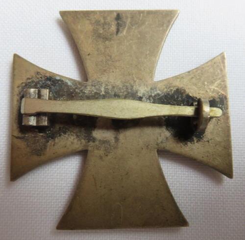 Eisernes Kreuz 1. Klasse- need opinions