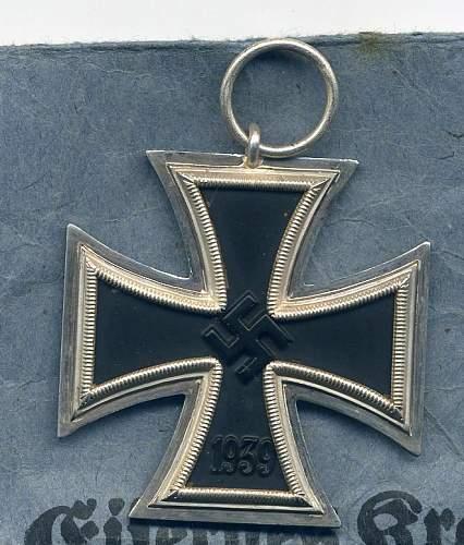 Eisernes Kreuz 2. Klasse Souval wartime?