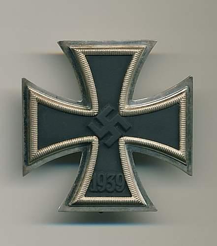 Eisernes Kreuz 1. Klasse - 65 K&Q for opinions