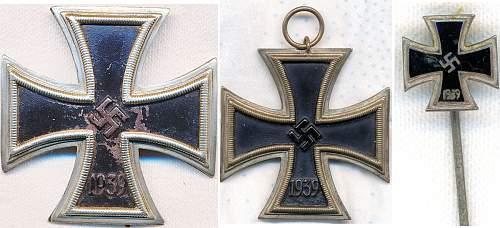 Eisernes Kreuz Straight 9 Family