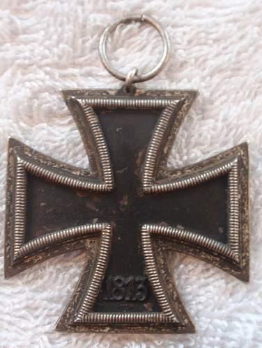 Eisernes Kreuz 2. Klasse makers mark 1 Deschler