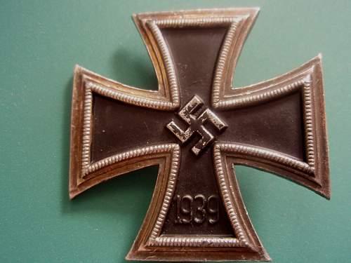 Eisernes Kreuz 1. Klasse - fake ?