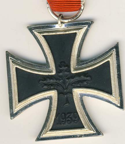 Help with this Knight's Cross