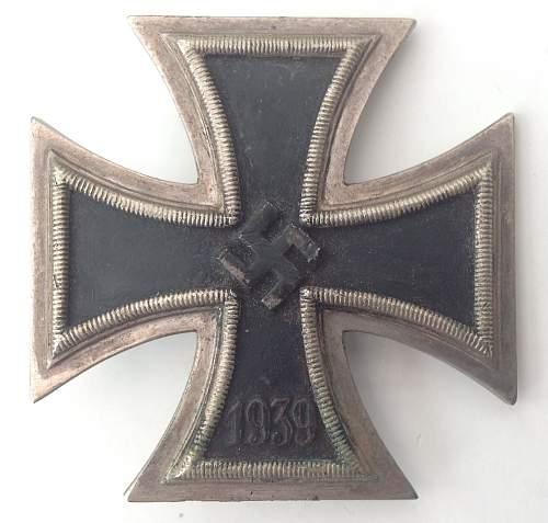 Named and Combat worn EK I