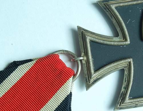 Friedrich Keller,Oberstein  Eisernes Kreuz 2. Klasse