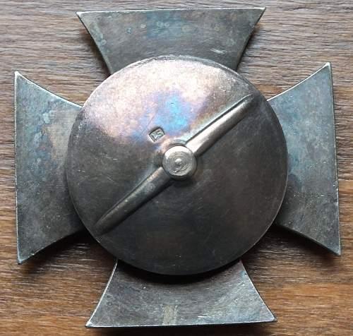 Eisernes Kreuz 1. Klasse S1 Deschler & Sohn