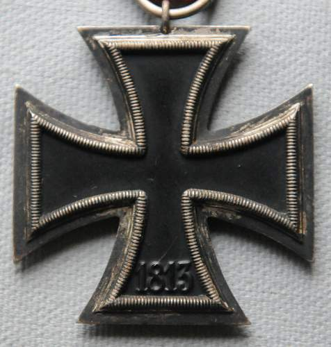 Click image for larger version.  Name:5 Iron Cross Second Class back.jpg Views:18 Size:204.7 KB ID:945297