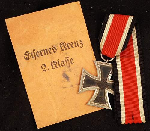 Iron Cross 2nd cl./ W/packet