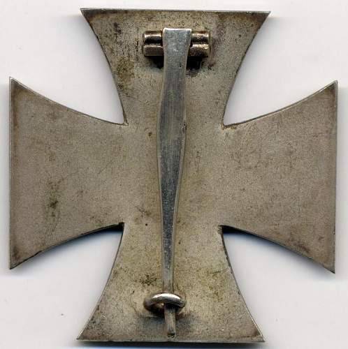 Cased Eisernes Kreuz 1. Klasse