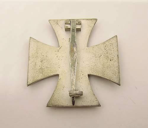 Eisernes Kreuz 1. Klasse, Fritz Zimmermann for opinions