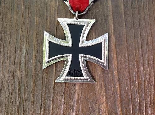 Minty Eisernes Kreuz 2. Klasse with long ribbon
