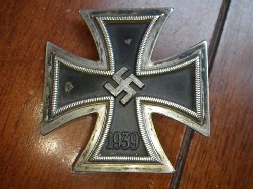 Eisernen Kreuz 1 Klass authentique?