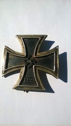 Eisernes Kreuz 1. Klasse - Iron Cross Ist Class