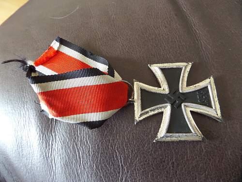 Number 3 marked Eisernes Kreuz