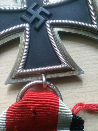 Original 65 Eisernes Kreuz 2. Klasse or Fake ?