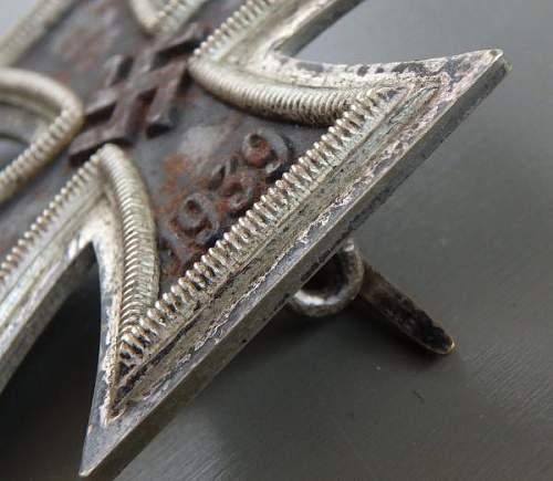 Eisernes Kreuz 1. Klasse opinions please?