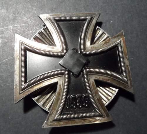 Vaulted Eisernes Kreuz 1. Klasse info....