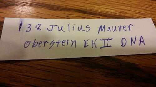 Eisernes Kreuz 2. Klasse (Going to be) My first!