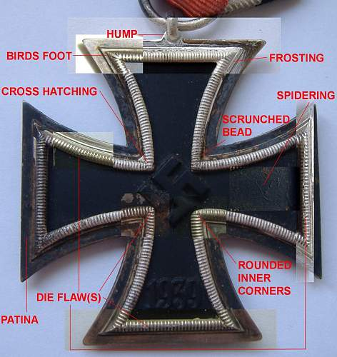Eisernes Kreuz 2nd Klasse terminology.