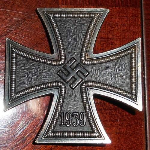 Eisernes Kreuz 1. Klasse L15, original?