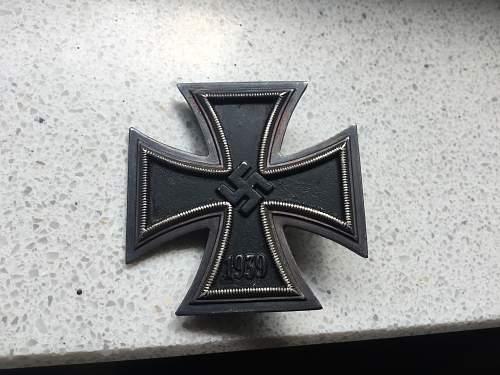 Eisernes Kreuz 1. Klasse Souval genuine?