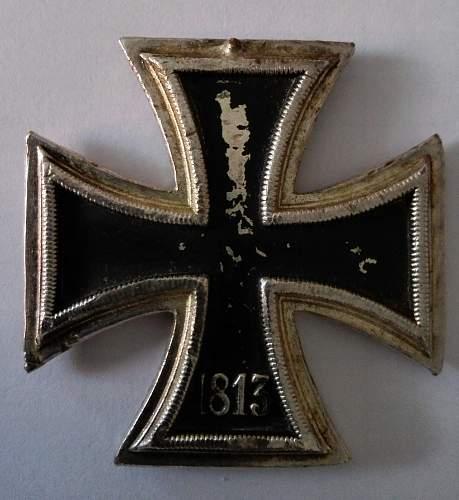 Eisernes Kreuz 2. Klasse opinion needed