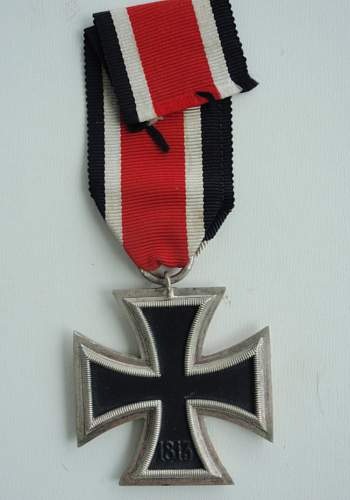 Eisernes Kreuz 2. Klasse, Maker 94?
