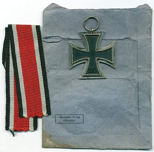 Eisernes Kreuz 2. Klasse marked ''4''