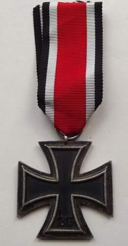 Eisernes Kreuz 2. Klasse - Opinions Please!