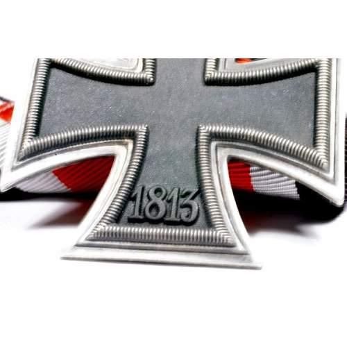 Ritterkreuz des Eisernen Kreuzes opinion needed please