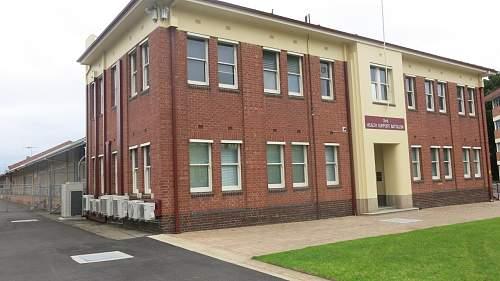 Keswick Barracks Army Museum, Adelaide, South Australia.