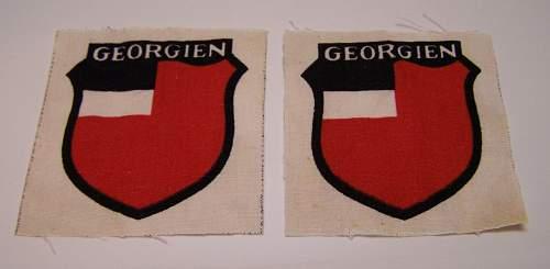 Georgian uprising on Texel