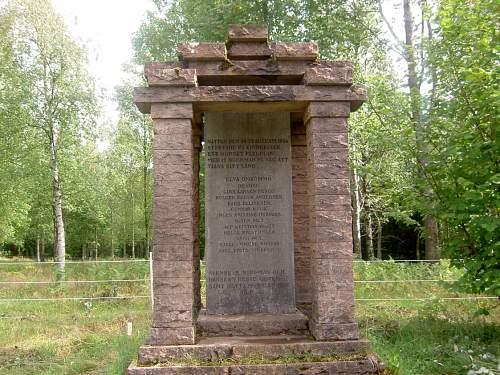 Memorial in Sweden
