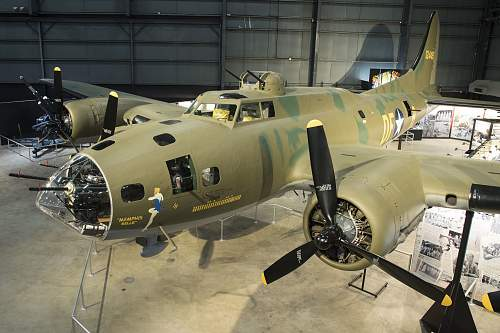 B-17F Memphis Belle to be placed on permanent display - May 17, 2018