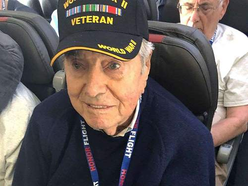 WWII veteran, 95, dies returning from 'Honor Flight'