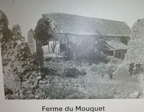 Mouquet Farm,France