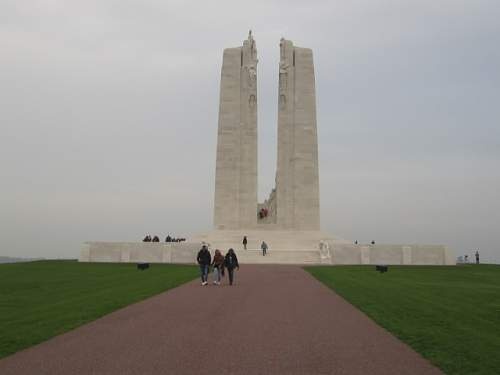 Canadian National Vimy Memorial, France.