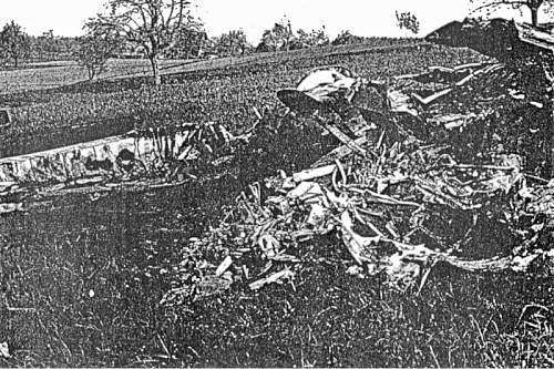 166th Squadron Avro Lancaster ME720  crash