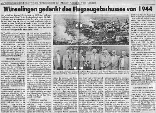 "B24 ""Maiden America"" crash site"