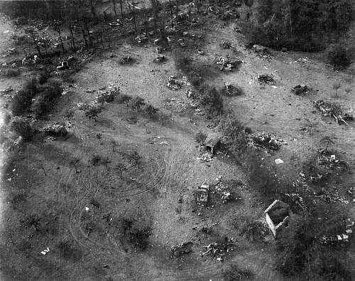 Scrapyards of the Falaise Gap - then and now