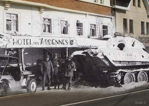 Now & Then.. Ardennes Iconic Image Journey..