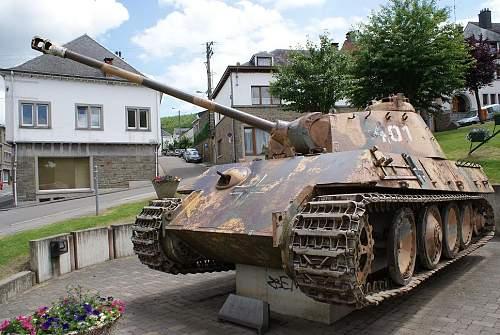 Panther Tank Houffalize