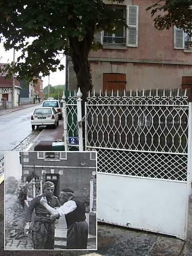 Orbec Normandy 1944 & 2008