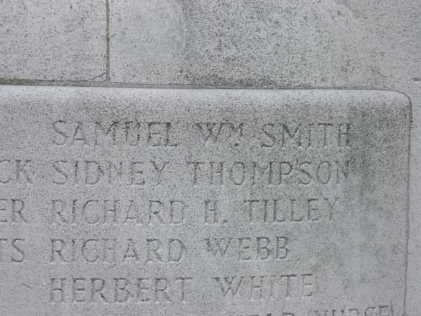 Name on Ruddington War memorial..jpg
