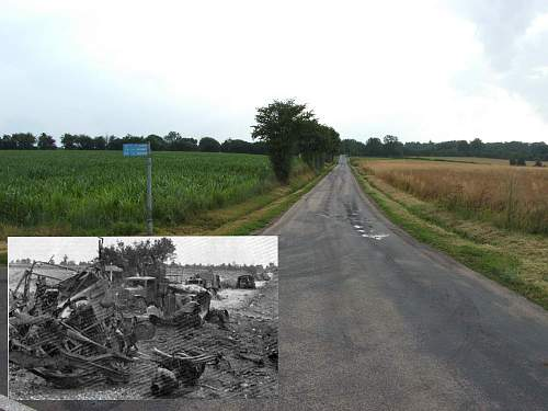 Normandy Lane. Then and Now.