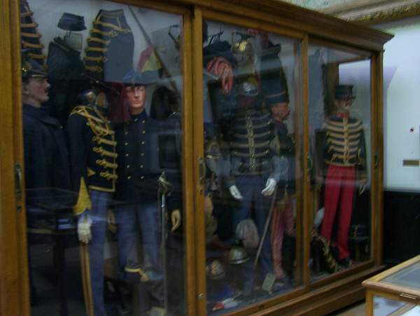 Museum: 'The Royal Museum of the Army and Military History' in Belgium